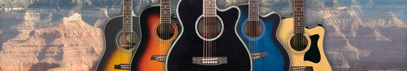 Westerngitarre (Rechtshänder)