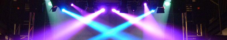 Sprzęt oświetleniowy i sceniczny