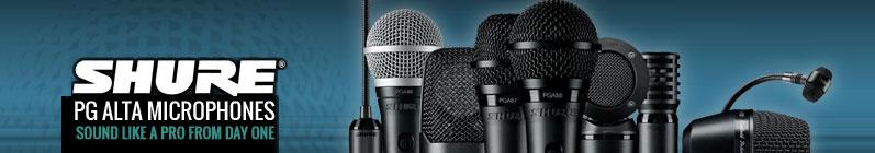 /series/Shure PG Alta Microphones