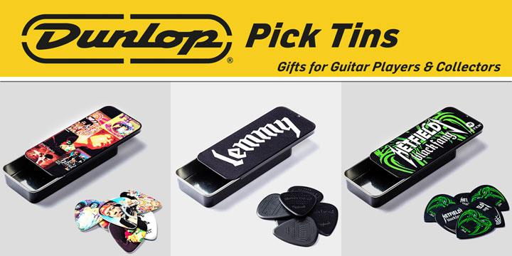 Dunlop Pick Tins