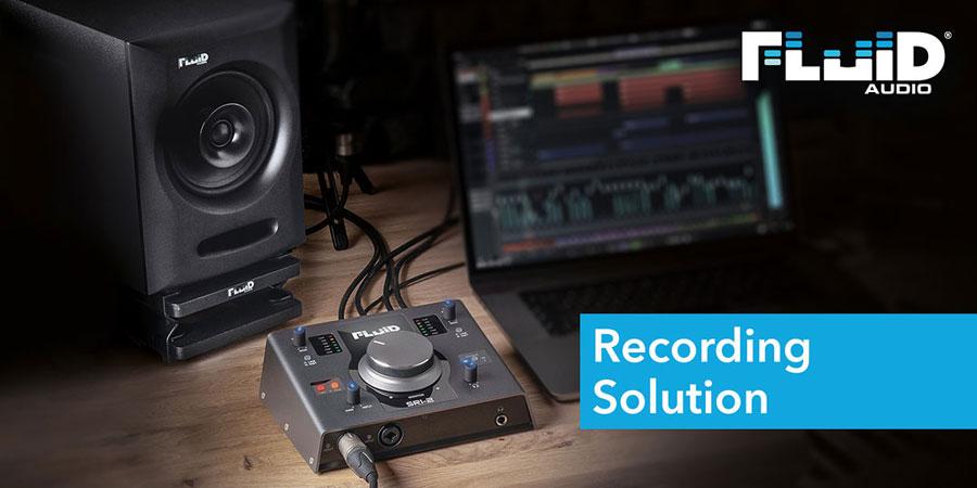 Fluid Audio Recording Solution