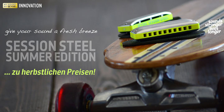 Seydel Session Steel Summer Edition