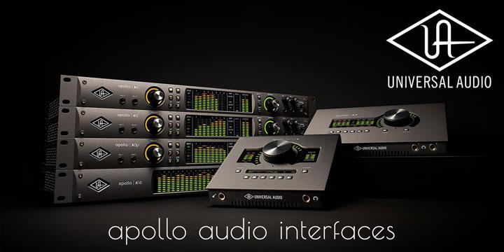 Universal Audio Apollo Audio Interfaces