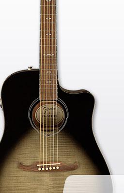 Fender|FA-325CE MBRST|Ltd. Edition