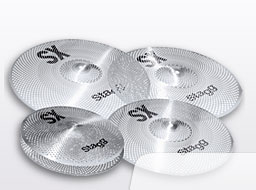 Stagg SXM Silent Practice|Cymbal Set