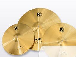 Bounce Brass Cymbal Set|3 Pcs.