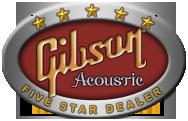 Gibson Acoustic Five Star Dealer