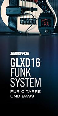 Shure GLXD16
