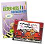 Children's book keyboard instrument