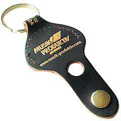 Musik Produktiv Leather Keychain « Key Fob