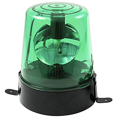 Eurolite Police Light DE-1 green « Gyrophare