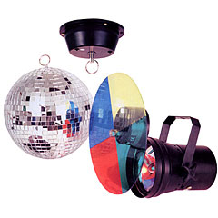Showtec Mirrorball Set 20 cm « Boule disco