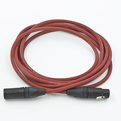 AudioTeknik MFM 3 m red « Microphone Cable