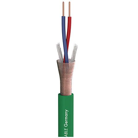 Meterware Audiokabel Sommer Cable Stage 22 Highflex green