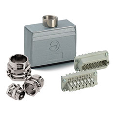 Contact 20-Pol Stecker komplett « Multipin-Stecker