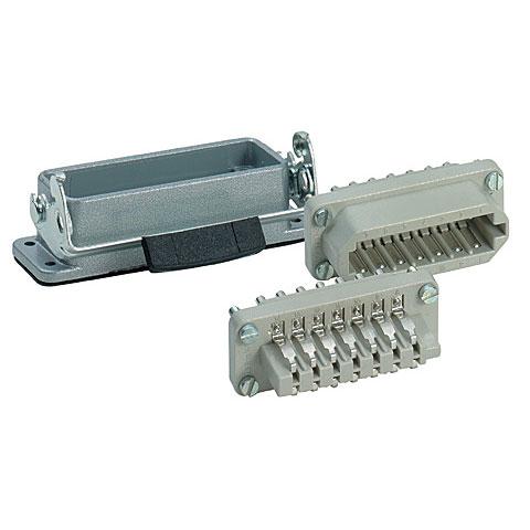 Multipin-Stecker Contact 20-Pol Anbau komplett
