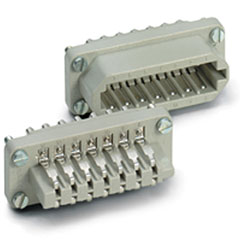 Contact 20-Pol Einsatz male « Conector Multipin