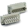 Multipin-Stecker Contact 20-Pol Einsatz male
