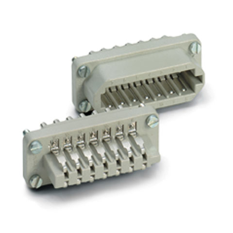 Conector Multipin Contact 20-Pol Einsatz female