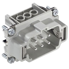 Contact 6-Pol Einsatz male « Conector Multipin