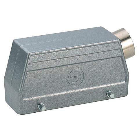 Multipin-Stecker Contact 10-Pol Gehäuse seitlich