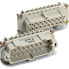 Contact 16-Pol Einsatz female « Conector Multipin