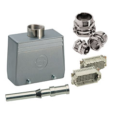 Contact 108-Pol Stecker komplett « Conector Multipin