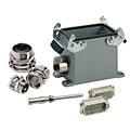 Multipin-Stecker Contact 108-Pol Aufbau komplett