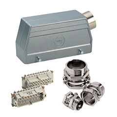 Contact 10-Pol Stecker kpl. male « Multipin-Stecker