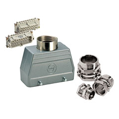 Contact 16-Pol Stecker kpl.female « Conector Multipin