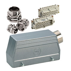 Contact 16-Pol Stecker kpl. male « Conector Multipin