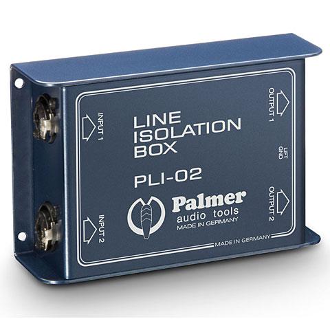 Line-Isolator Palmer PLI 02 Isolation/Symmetrierer