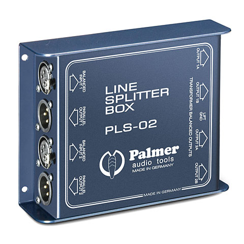 Splitter Palmer PLS 02 2-Channel Line Splitter