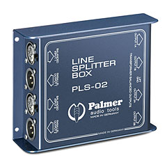 Palmer PLS 02 2-Channel Line Splitter « Splitteur