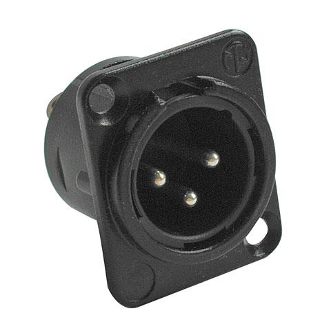Conector XLR Neutrik NC3MD-L-BAG-1