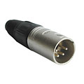 XLR-Stecker Neutrik NC4MX