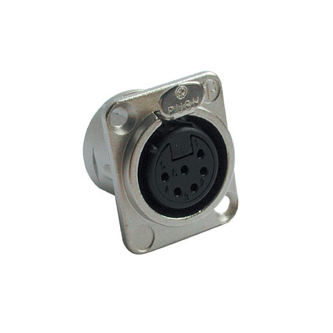 Conector XLR Neutrik NC6FD-L-1