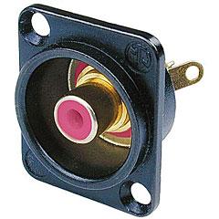 Neutrik NF2DB2 Buchse schwarz/rot « Cinch Stecker