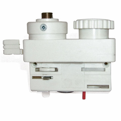 Illumination architecturale Eutrac 3-Phasen Adapter weiß