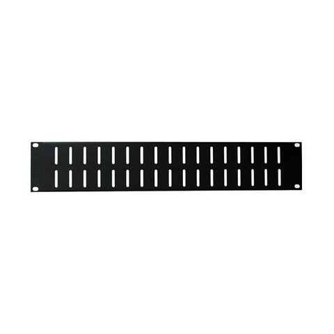Rack Panel  AAC Ventilation Panel 2HE Steel