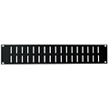 AAC Ventilation Panel 2HE Steel « Rack Panel