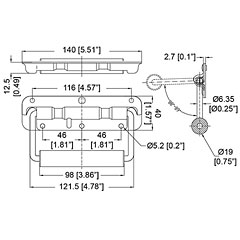 AAC H1053 Kastengriff
