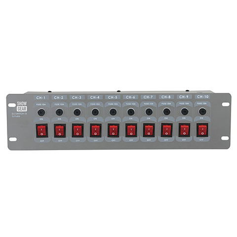 Scan Controller Showtec DJ-Switch 10