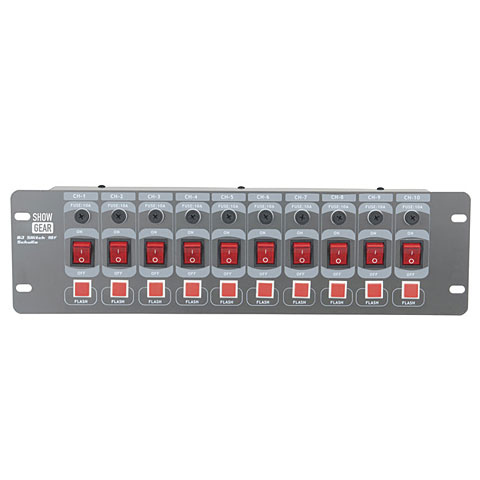 Controlador Scan Showtec DJ-Switch 10F