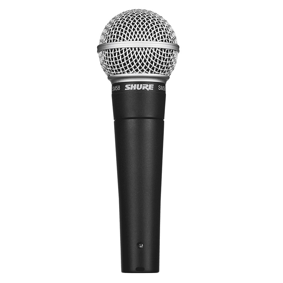 shure sm58 microphone musik produktiv. Black Bedroom Furniture Sets. Home Design Ideas