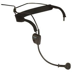 Shure WH20 XLR Headset « Micrófono