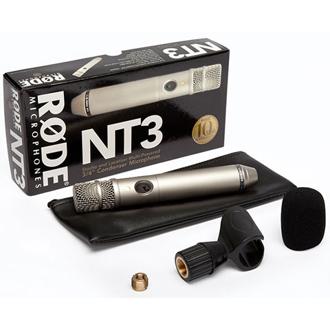 Rode NT3 Condenser Cardioid Microphone