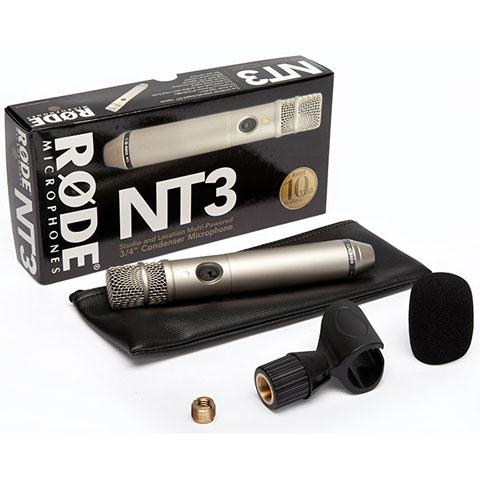 Mikrofon Rode NT3 Condenser Cardioid Microphone