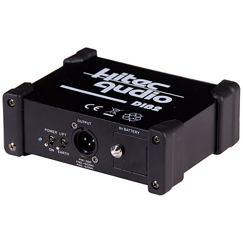 DI Box Hitec Audio DIB2 1-Channel Active DI-Box