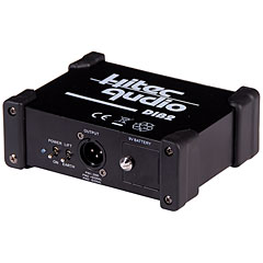 Hitec Audio DIB2 1-Channel Active DI-Box « DI-Box/splitter
